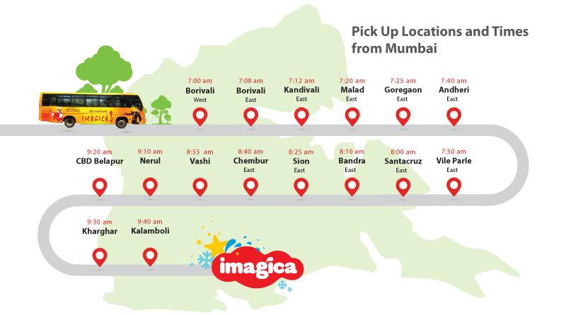 Imagica A C Bus Packages From Mumbai Pune Amp Thane