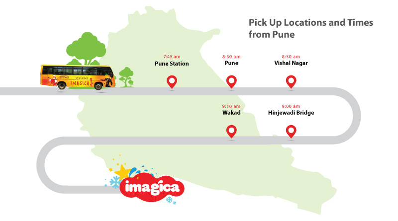 Bus route from Pune
