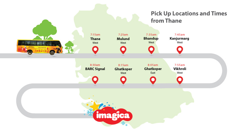 Bus route from Thane
