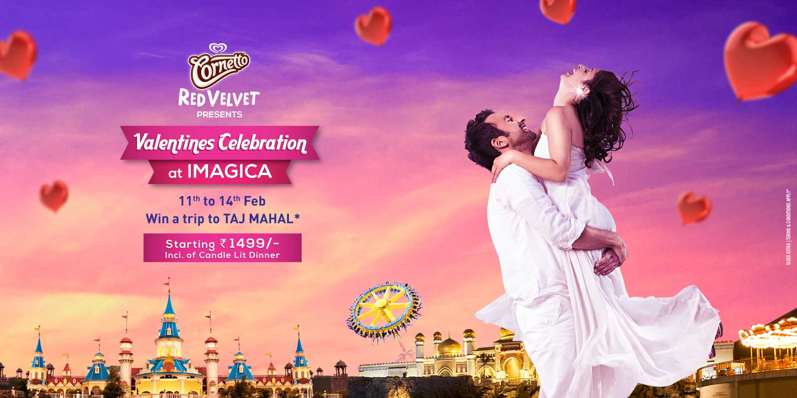 Valentine's Day Special – win a trip to the TAJ MAHAL