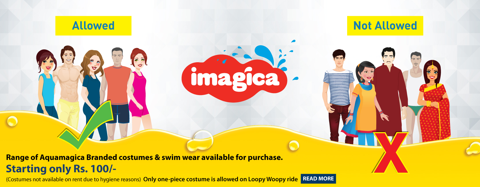 Clothing and footwear adlabs imagica international theme park in