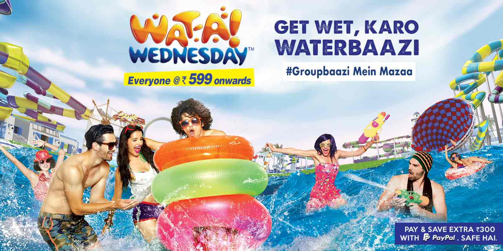 Go with the Flow at Imagica Water Park near Mumbai, Pune