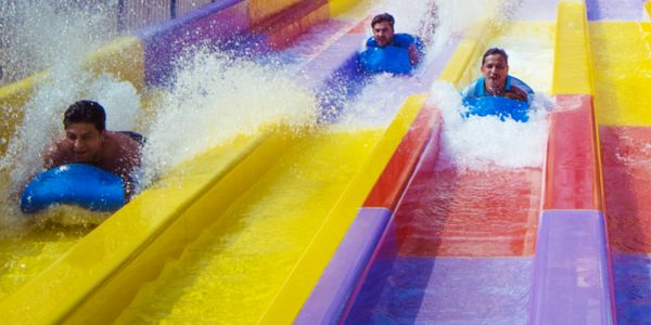Group water slides
