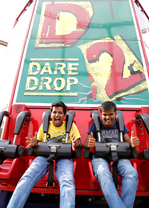 Dare 2 Drop – Imagica Theme Park Rides