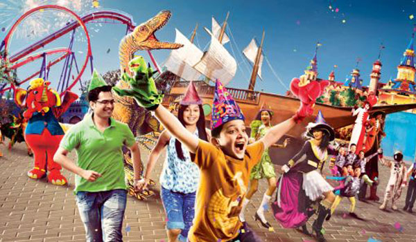 Relive Childhood Memories at Theme Park