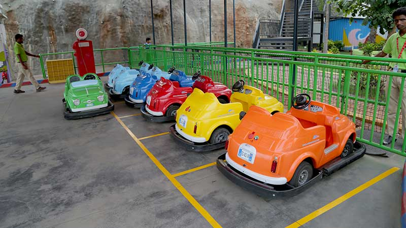 Happy Wheelss - Imagica Theme Park Rides