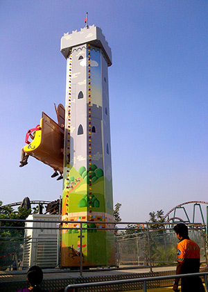Humpty's Fall - Imagica Theme Park Rides