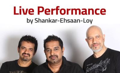 Musical performance by Shankar-Ehsaan-Loy at Imagica on 31st Dec. New Year Party in Mumbai, Pune 2016 | New Year Eve Parties in Mumbai, Pune
