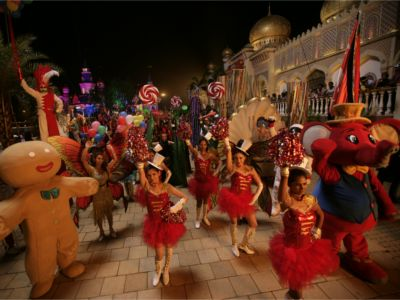 Grand Night Parade at Imagica's Anniversary Bash