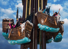 Save the Pirate - Imagica Theme Park Rides