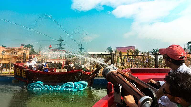 Splash Ahoy! - Imagica Theme Park Rides