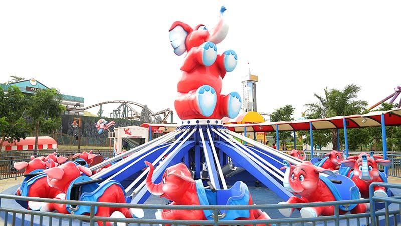 Tubbby Takes Off - Imagica Theme Park Rides